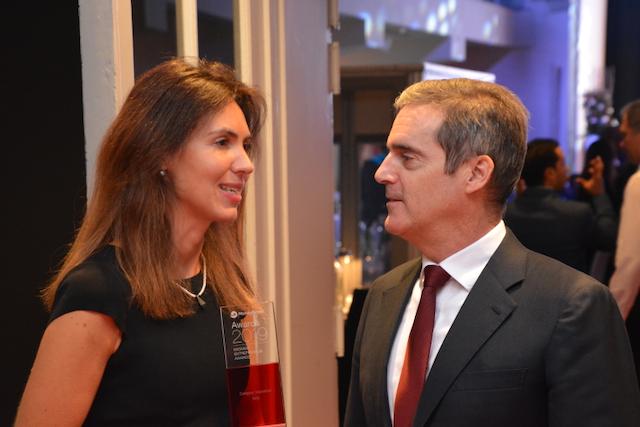 Andreea Arnautu e Grant Lines ai MoneyGram Awards 2019