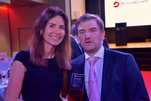 Andreea Arnautu e Andrija Kalic ai MoneyGram Awards 2019