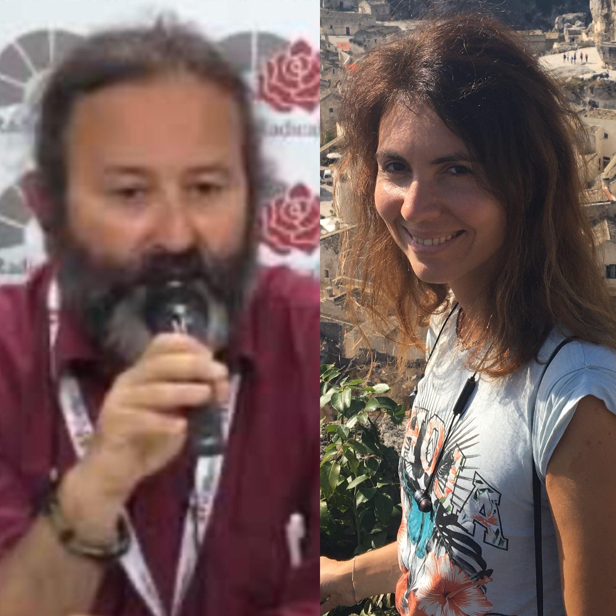 Andrea Billau e Andreea Arnautu