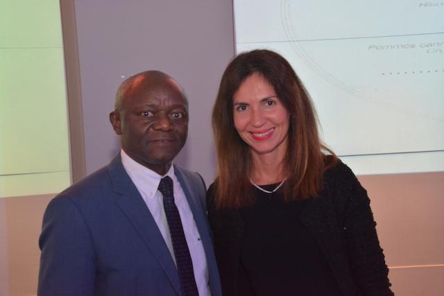 Andreea Arnautu e Pierre Company ai MoneyGram Awards 2019